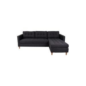 Norddan Designová sedačka Brianna, černá