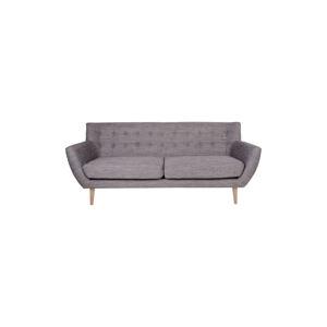Norddan Designová sedačka Aaliyah, šedá