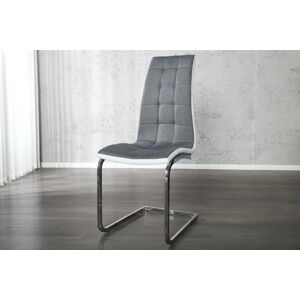 LuxD Jídelní židle Liverpool šedá