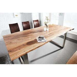 LuxD Luxusní jídelní stůl z masivu Massive II 200cm
