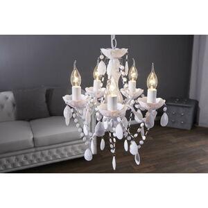 LuxD 16778 Lustr Barisimo S bílý závěsné svítidlo