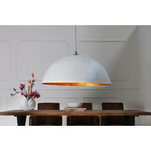 LuxD 17524 Lampa Atelier bílo-zlatá 50cm závěsné svítidlo