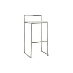 DesignS Designová barová židle Ethan bílá