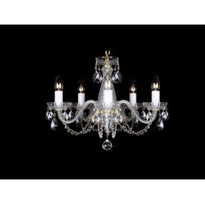 LuxD 16792 Křišťálový lustr Classic R5 závěsné svítidlo