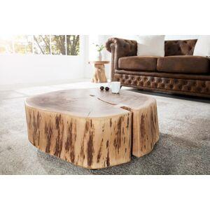 LuxD Konferenční stolek z masívu Island II Circle
