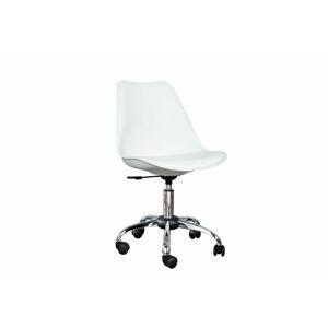 LuxD Kancelářská židle Sweden - bílá