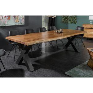 LuxD Jídelní stůl Massive X Honey 240 cm - tloušťka 60 mm - akácie - otevřené balení