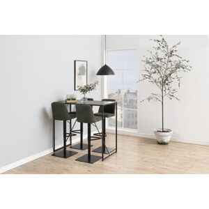 Dkton Barový stůl Naja 120 cm černá jasan