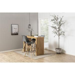 Dkton Barový stůl Nazira 105 cm divoký dub -  (SB)