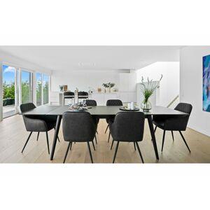 Norddan Designová jídelní židle Gracelyn, šedá