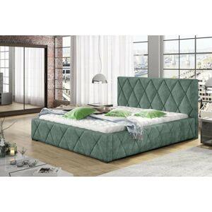 Confy Designová postel Kale 160 x 200 - 8 barevných provedení