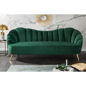 LuxD Designová sedačka Adalia 220 cm zelená
