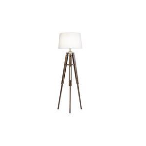 LuxD 25054 Designová stojanová lampa Dawson 158 cm bílá závěsné svítidlo