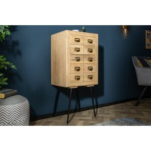 LuxD Designová zásuvková komoda Marilyn 116 cm mango