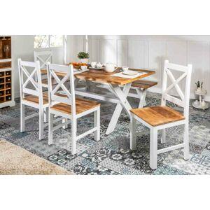 LuxD Designová židle Rodney mango