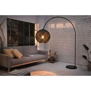 LuxD 24934 Designová stojanová lampa Omari 205 černá