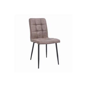 LuxD Designová židle Modern antik taupe