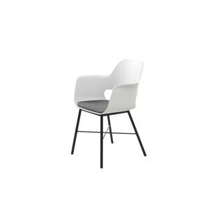Furniria Designové křeslo Jeffery bílé