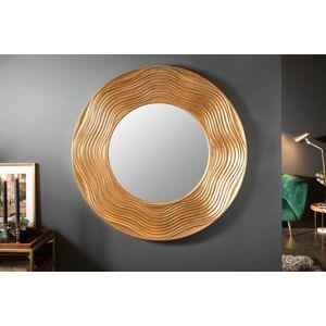 LuxD Designové nástěnné zrcadlo Dalton 100 cm zlaté