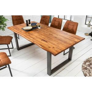 LuxD Designový jídelní stůl Evolution 140 cm akácie - Skladem (RP)