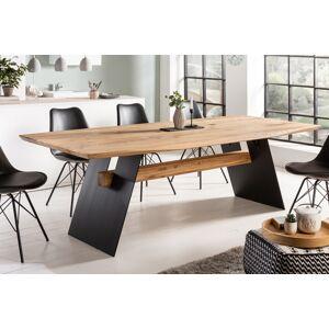 LuxD Designový jídelní stůl Galeno 240 cm divý dub