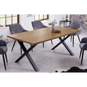 LuxD Designový jídelní stůl Giuliana X 160 cm dub