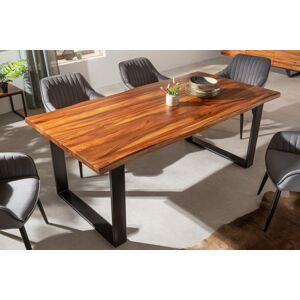 LuxD Designový jídelní stůl Halona 180 cm moruše