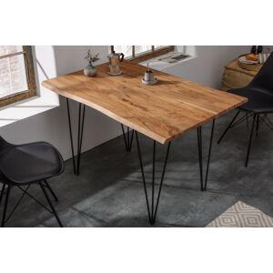 LuxD Designový jídelní stůl Massive 120 cm tloušťka 26 mm akácie