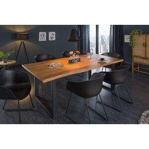 LuxD Designový jídelní stůl Massive 180 cm tloušťka 35 mm akácie