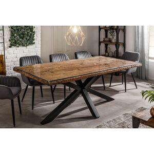 LuxD Designový jídelní stůl Shark 200 cm přírodní