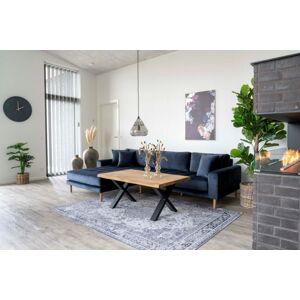 Norddan Designový konferenční stolek Jonathon 120 cm přírodní dub