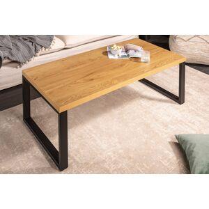 LuxD Designový konferenční stůl Giuliana 120 cm imitace dub