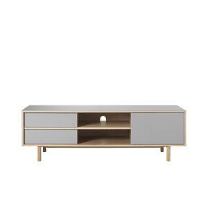 Furniria Designový TV stolek Jaxen 156 cm