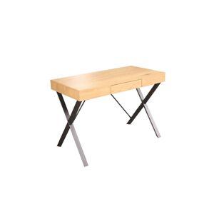 LuxD Designový psací stůl Kiana 110 cm vzor dub