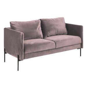 Dkton Designová sedačka Noomi světle růžová