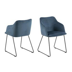 Dkton Designové židle Aleem tmavomodrá