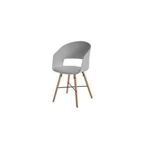 Dkton Designová židle Alexei šedá