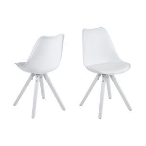 Dkton Designové židle Nascha bílá