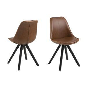 Dkton Designové židle Nascha brandy