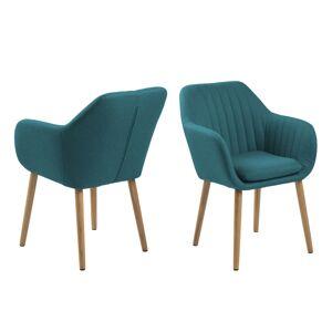 Dkton Designové židle Nashira azurová 2