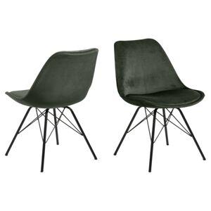 Dkton Designová židle Nasia lesní zelená