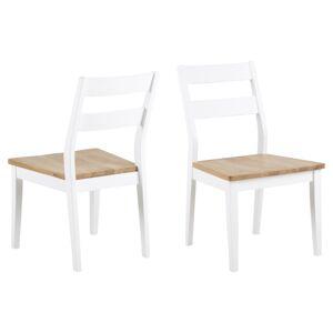 Dkton Designové židle Nedde bílá