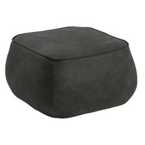 Dkton Designová taburetka Nara antracitová kostka