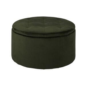 Dkton Designová taburetka Nasima lesní zelená
