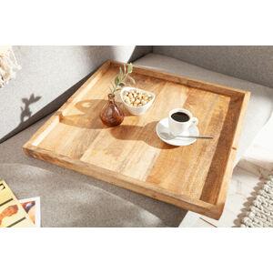 LuxD Dřevěný podnos Elegant 50 cm Mango
