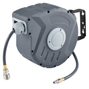 Kompresor na vzduch s automatickým tlakem 3/8 a 10m hadicí s možností montáže na stěnu