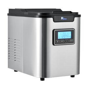 Přístroj na výrobu ledu MIM242L šedo-černý