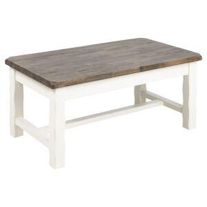 Dkton Elegantní konferenční stolek Abner 130 cm