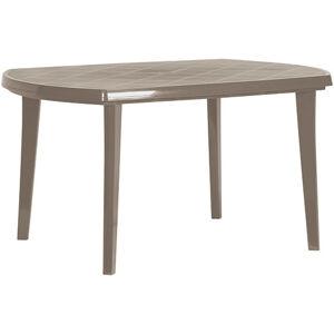 Allibert ELISE stůl - cappuchino