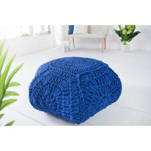 LuxD Designová taburetka Lilly II / tmavě modrá